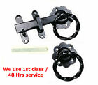 "6"" Twisted Ring Latch Ideal For Front Outdoor Garden Gates Colour To Choose"