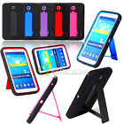 Rugged Hybrid Stand Case Cover For Samsung Galaxy Tab3 7.0 T210 P3200 P3210 New