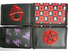 Purple Witch Only Chain Trifold Wallet Purse Wicca Punk Emo Goth ~ Limited Stock