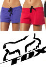 FOX RACING WOMENS GIRL'S ARTIFICIAL SHORTS BLACK PURPLE PINK board surf gym