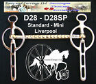 Liverpool Bit Straight Bar Carriage Driving All Sizes Style D28