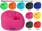 MEGA CLASSIC BEANBAG HUGE GAMING BEANBAGS SEAT GREAT FOR INDOORS and OUTDOORS