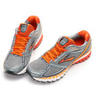 Brooks Men's Ghost 6 (D Width) Running Shoes 1101441D820 PAVEMENT-SLVR-ORANGE