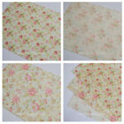 Vintage Rose Edible Icing or Wafer Paper Sheet Wedding Perfect for Wafer Flowers