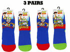 NEW BOYS PACK OF 3 PAIRS DISNEY TOY STORY SOCKS EX STORE CHARACTER BUZZ WOODY