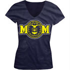 Air Force Mom - United States Of America Seal Troops Girls Junior V-Neck T-Shirt