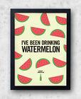 "Beyonce Watermelon Poster, ""Drunk In Love"" Jay-Z, Kanye West, destiny's child"