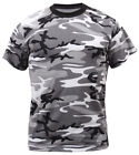 t-shirt city camo black and white cotton poly blend camouflage rothco 6797