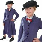 Posh Victorian Girl Mary Poppins Curriculum Book Day Kids Fancy Dress Costume