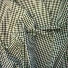 "Emerald Green 1/8"" Gingham Check poly cotton material sold by the metre 112cm"