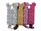 Cut Leopard Tail Cell Phone Skin Case Cover For Samsung Galaxy Note 3 III N9000