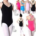 Cotton Tank Dance Ballet Gymnastics Leotard For Girls AU SELLER da006