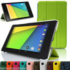 Tri-Fold Leather Stand Case Cover For Asus Google Nexus 7 2 2013 Edition 2nd Gen