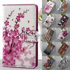 Magnetic Flip Stand Leather Wallet Card Hard Case Cover For Nokia Lumia 520