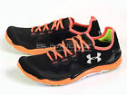 Under Armour UA Charge RC 2 Lightweight Running Shoes Black/Orange 1235671-003