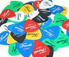 Ferris PVC Plectrums Picks,  Pack Of 24 Available In Gauges,  0.5,  0.6,  0.8