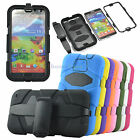 Builders Heavy Duty Shockproof Rugged Hybrid Tough Case Cover for Samsung+Belt