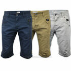 Mens Crosshatch Shorts Bottoms Combat Cargo Jeans Knee Length Pants Summer New