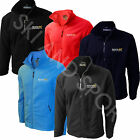 Mens Regatta Jacket Fleece Micro Full Zip New Embroidered TRF557
