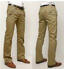 3 Colors New Stylish Men's Casual Long Pants Slim Fit Straight Formal Trousers