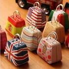 1 x Lovely Mini Creative Handbag Shape Bag Tin Box Jewelry Storage Box