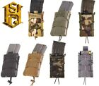 HSGI MOLLE or BELT Mount Taco Single Rifle Mag Pouch-11TA00/13TA00-Choose Color