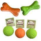 Rosewood Cyber Squeakies Tough Chew Dog Toy - Throw & Fetch Bone - Squeaky Toy