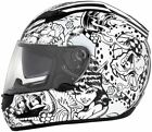 Cyber US-97 Lethal Threat Sharpie Full Face Helmet 2013
