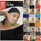 Men's DU RAG w/ Long Tie Sports DU-RAG Tie Down Cap HeadWrap Breathable One Size