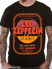 Led Zeppelin Wembley 1971 T Shirt Official Black S M L XL Plant Page