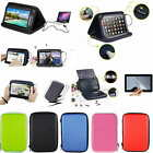 Colorful Speaker Leather Case+Free Film For 10.1 HANNSPREE 10.1inch Tablet PC