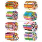 C99D 40-100pcs 3D Nail Art Tips Decoration Fimo Canes Rod Clay Stick Sticker DIY
