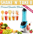 Shake n Take 2 II Fruit Juice Smoothie Yogurt Ice Blend Personal Blender Machine