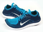 Nike Free Flyknit 4.0 Neo Turquoise/White-Brave Blue-Volt Lightweight 631053-401