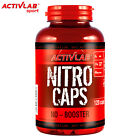 NITRO CAPS 120 CAPS. BEST NITRIC OXIDE NO BOOSTER IMPROVES MUSCLE SIZE & VOLUME