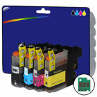 1 Set of non-OEM Ink Cartridges for Brother LC123 V3 Range of Printers