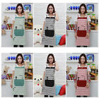 1 NEW COTTON CRAFT / COMMERCIAL RESTAURANT KITCHEN BIB APRONS with Pocket