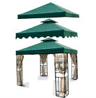 New 10'x10 Green Gazebo Canopy Top Cover Replacement Outdoor Garden Patio-choose