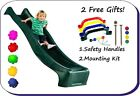 3m/10ft Kids Wavy Slide for Playhouse, Treehouse, Climbing Frame accessory NEW!
