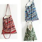 Handmade Bohemian national Shoulder Bag Cotton Tote Purse Messenger shopping Bag