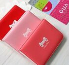 New 24 Cards bowknot Soft leather Credit ID Card Holder Wallet