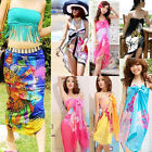 Summer Women Beach Chiffon Sarong Dress Lady Cover Up Wrap Scarf Swimwear Dress