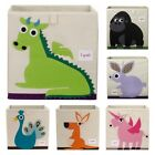 NEW 3 Sprouts Childrens Animal Storage Toy Box - Assorted styles available
