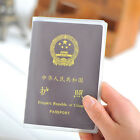 New Matte Transparent Passport Case Waterproof Cover Protective Sleeve