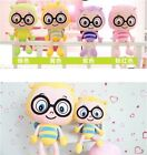 Plush toy stuffed doll Stripe Glasses Bee Insect cute model birthday gift 1pc