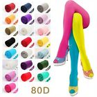 Autumn Winter OPAQUE 80D PANTYHOSE Stockings Tights Leggings 25 Candy Colors
