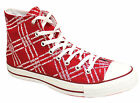 Converse CT AS Red Hi Top Womens Mens Boys Trainers Lace (100686 D46)