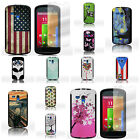 For Motorola Moto G - Tough Dual Layer Hybrid Phone Case With Screen Protector