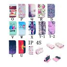 New for iPhone 4 4S OWL Flower Tower Clip PU Leather Flip Stand Wallet Case