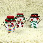 Cute Hat Snowman Xmas Christmas Tree Pendant Hanging Decoration Ornaments Gift